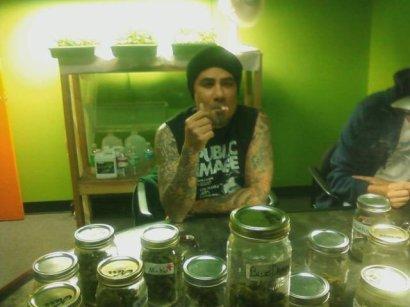 Jim likes weed